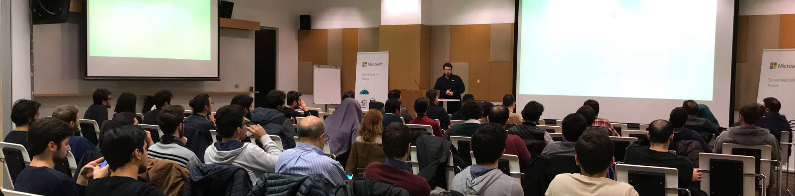 Serverless at Microsoft Entrepreneurship Meetup December 2017